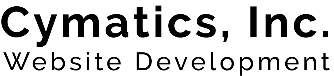 Cymatics Web Development